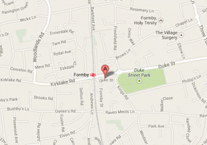 Find us - Formby